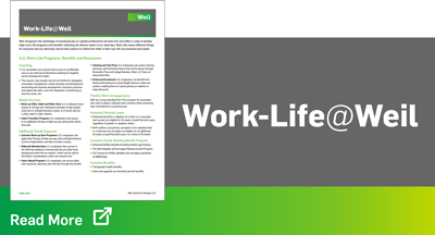 Weil Work Life Benefits Thumbnail