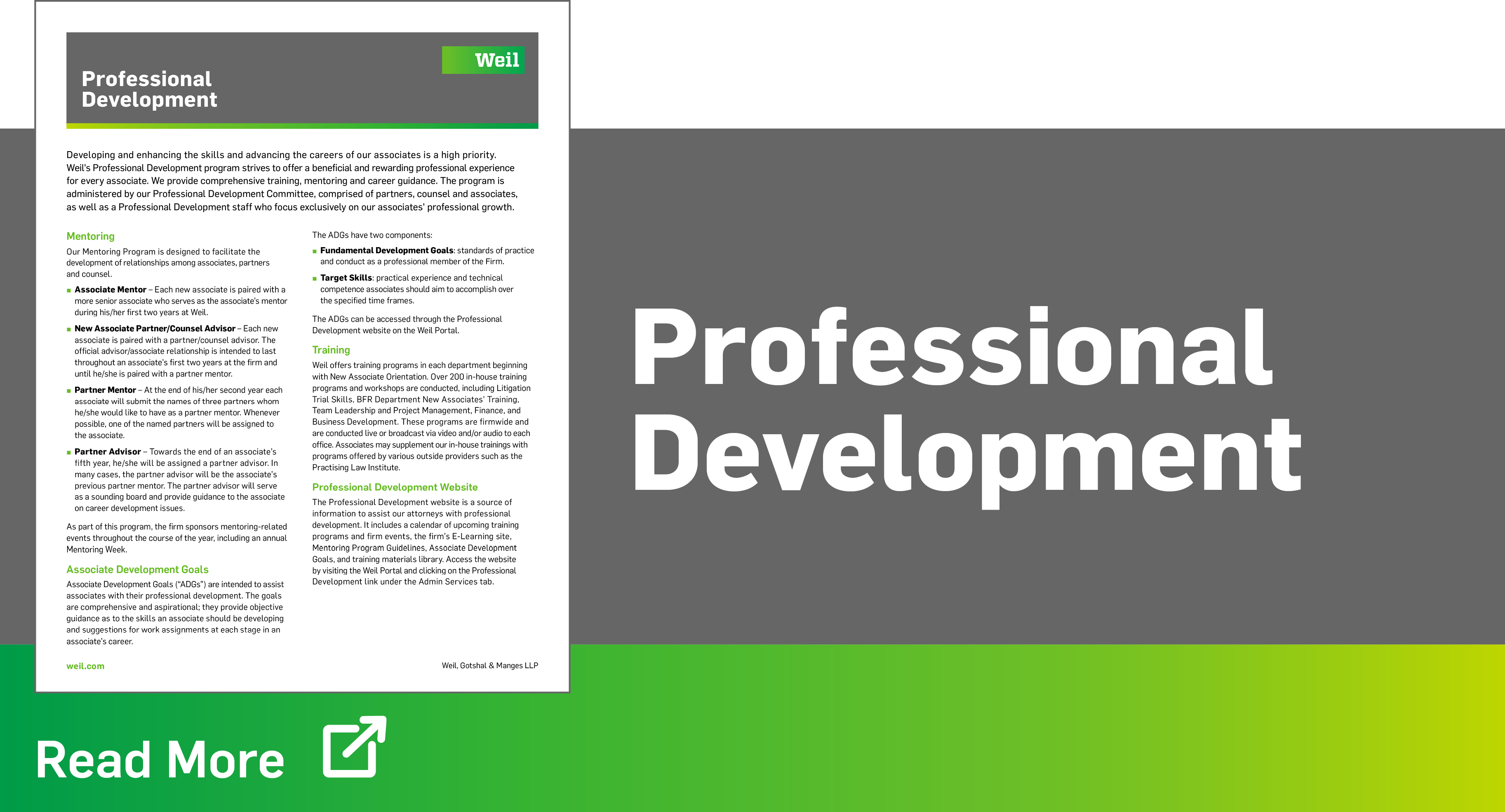 Professional-Development-Weil-Gotshal