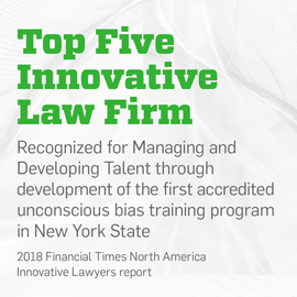 Top Five Innovative Law Firm
